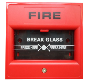 Break Glass Fire Alarm call point
